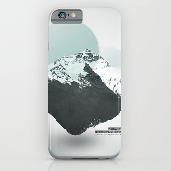 Mt. Everest - The Surreal North Face iPhone & iPod Case
