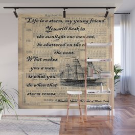 Count of Monte Cristo quote Wall Mural