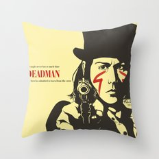 Deadman Throw Pillow