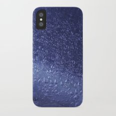 Blue and Shiny iPhone X Slim Case
