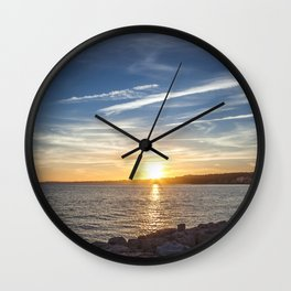 Last summer I Wall Clock