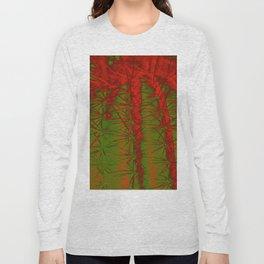 Cacti Abstract II Long Sleeve T-shirt