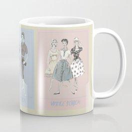 vintage fashion Coffee Mug