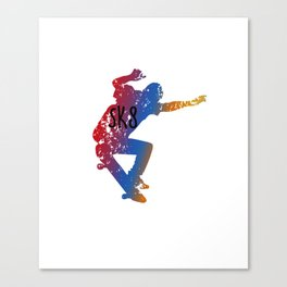 Awesome & Cool Skating and Skateboarding Canvas Print