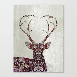 My Deer Love Canvas Print