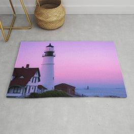 Summer Lighthouse Rug