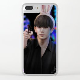 Monsta X Wonho Clear iPhone Case