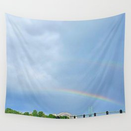 Double Rainbow 2 Wall Tapestry