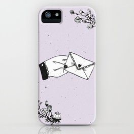 Snail Mail Love iPhone Case