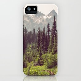 Faraway - Wilderness Nature Photography iPhone Case