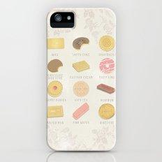 BISCUITS  iPhone (5, 5s) Slim Case