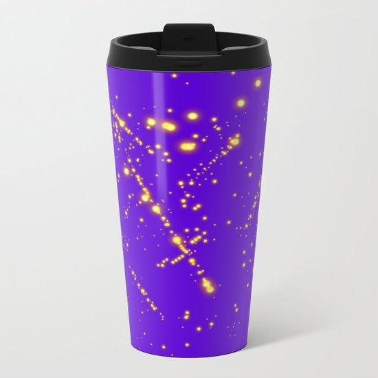 Lights Metal Travel Mug