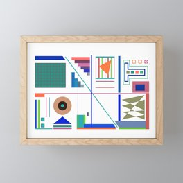 After the Fourth of July Framed Mini Art Print