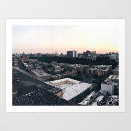Harlem Rooftop View Art Print
