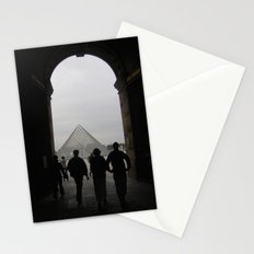 Arch to the Louvre Stationery Cards
