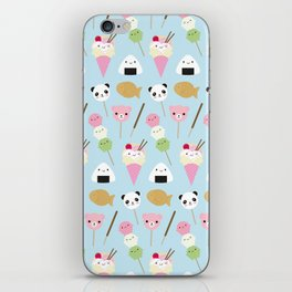 Japanese Kawaii Snacks iPhone Skin