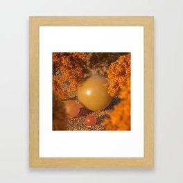 Autumn Feels Framed Art Print