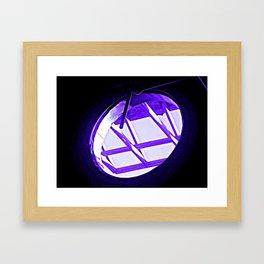 have you ever seen a portal? Framed Art Print