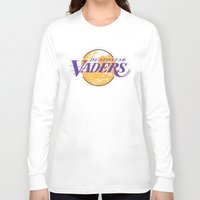 lakers Long Sleeve T-shirts featuring L.A. Vaders by Ant Atomic