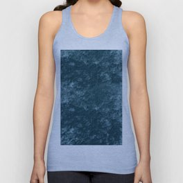 Peacock teal velvet Unisex Tank Top