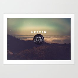 nVADE // Earth Art Print