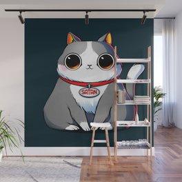 Satan Cat Wall Mural