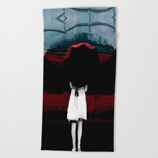 Heaven Is Perfect For Hell Beach Towel