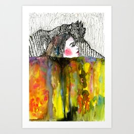 Inspiration Breath Art Print