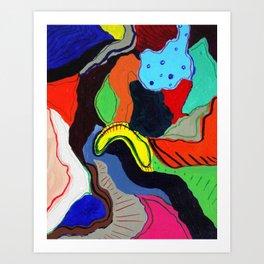 Miro Art Print