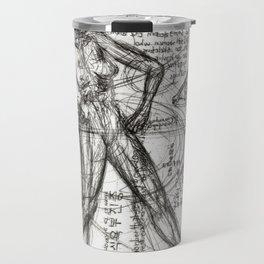 Clone Death - Intaglio / Printmaking Travel Mug
