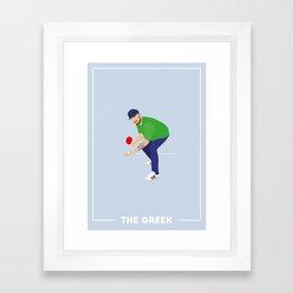 The Greek Framed Art Print