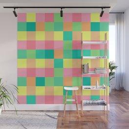 color squares fun love cute art new 2018 style fashion hot pop artist cover case skin shirt bag wall Wall Mural