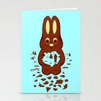 hunting Stationery Cards featuring Chocolate Hunting by Matt Wasser