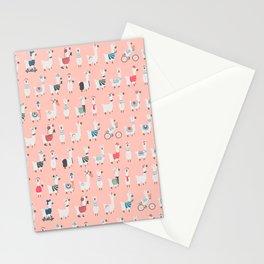 Cool llamas Stationery Cards