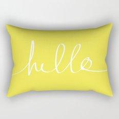 Hello x Sunshine Rectangular Pillow