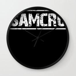 SAMCRO SOA  Wall Clock