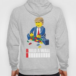 Trump T-Shirt Build a Wall Tee Hoody