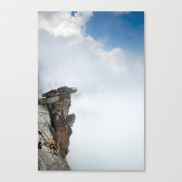 Glacier Point, Yosemite National Park, 7,000ft Above Yosemite Valley, Yosemite Photography Canvas Print