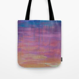 Miami Sunset Tote Bag
