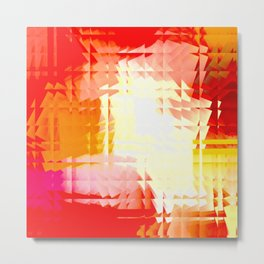 Square glass  6 Metal Print