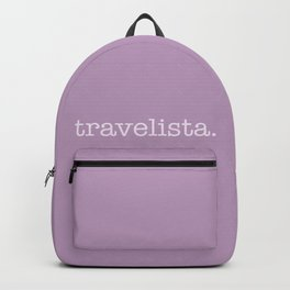 Travelista - travel girl adventure Backpack