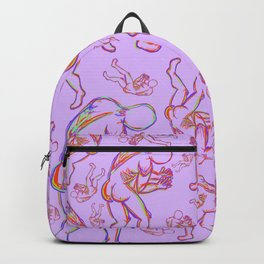 In These Hands Pink Backpack