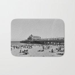 Bournemouth Pier - Summer In England Bath Mat