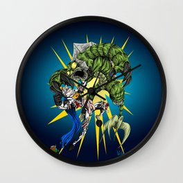 Triumph of the Werefish Wall Clock