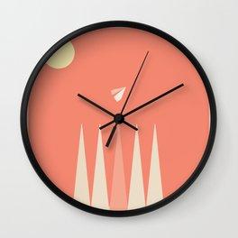 Take Flight 4 Wall Clock