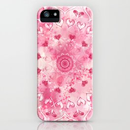 """The Suitor's Plea"" Kaleidoscope 5 by Angelique G. @FromtheBreathofDaydreams iPhone Case"