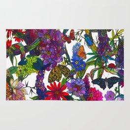 Botanical Butterflies Rug
