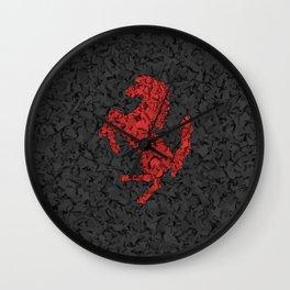 Homage to Ferrari Wall Clock