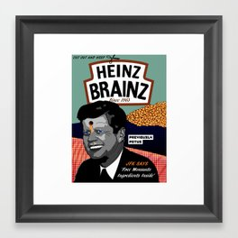Heinz Brainz Framed Art Print
