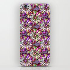 JOYFUL AND DOTTY FLOWER PATTERN iPhone & iPod Skin